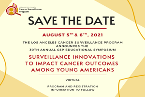 Save the Date: 30th Annual CSP Educational Symposium